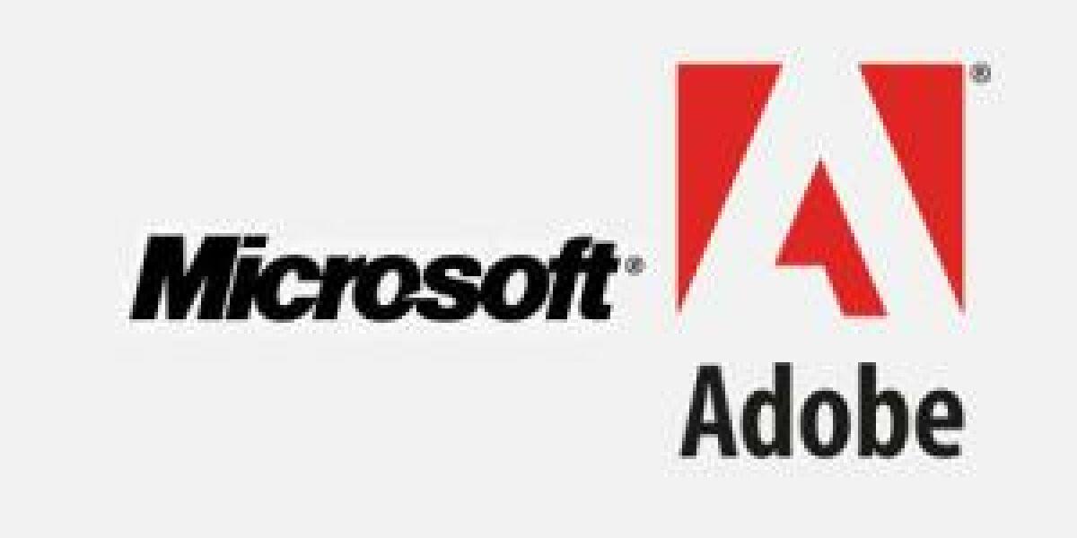 Geheimtreffen zwischen Microsoft und Adobe