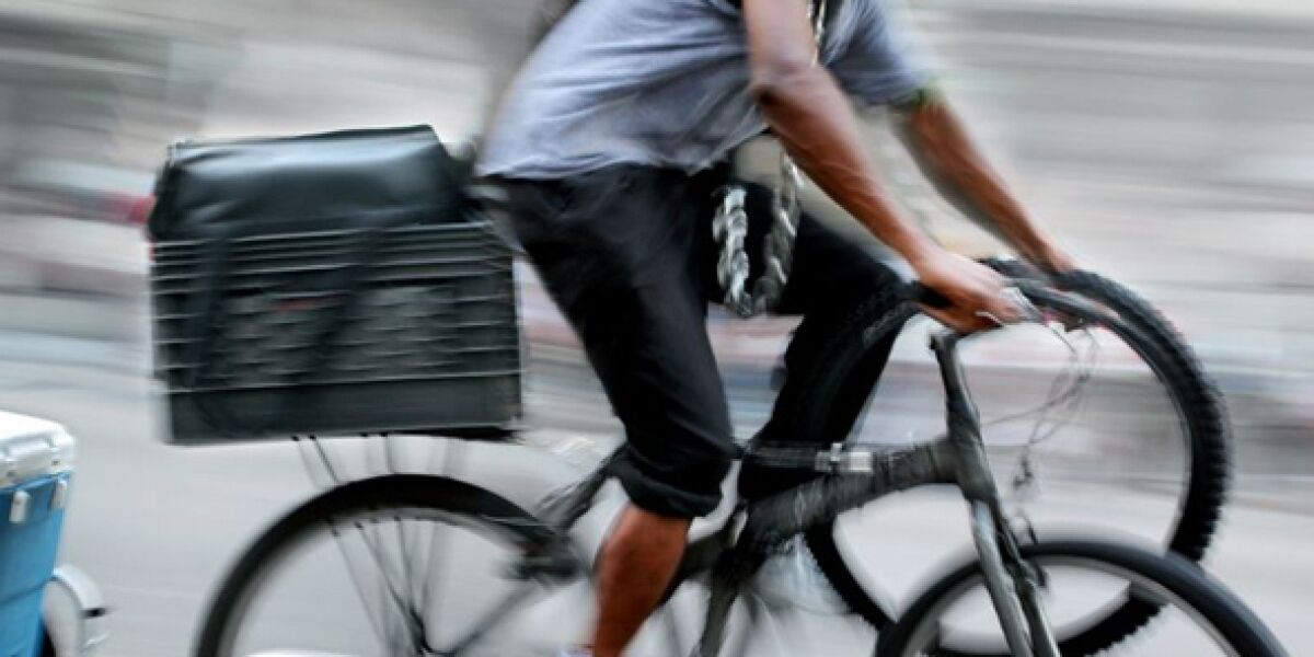 Fahrrad-Kurier