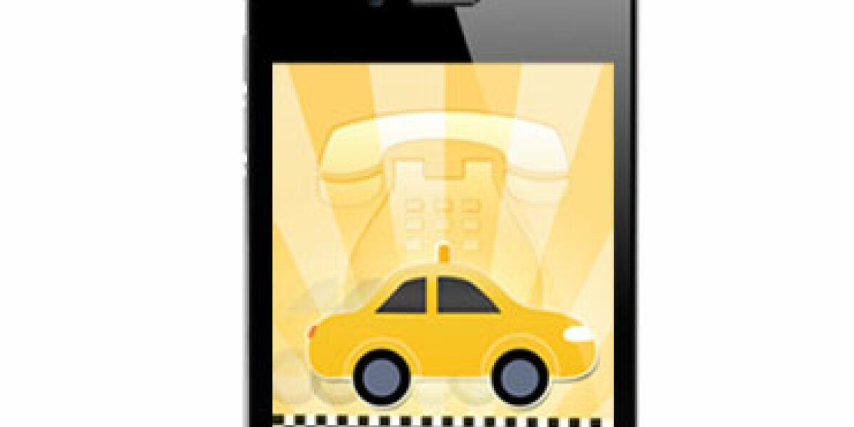App ruft Taxi
