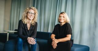 Martina Fink und Carina Steinbock