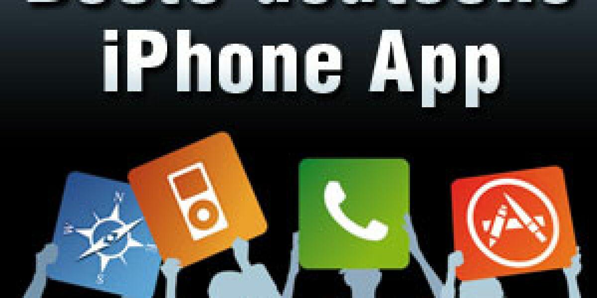 Deutschlands beste iPhone-App gesucht