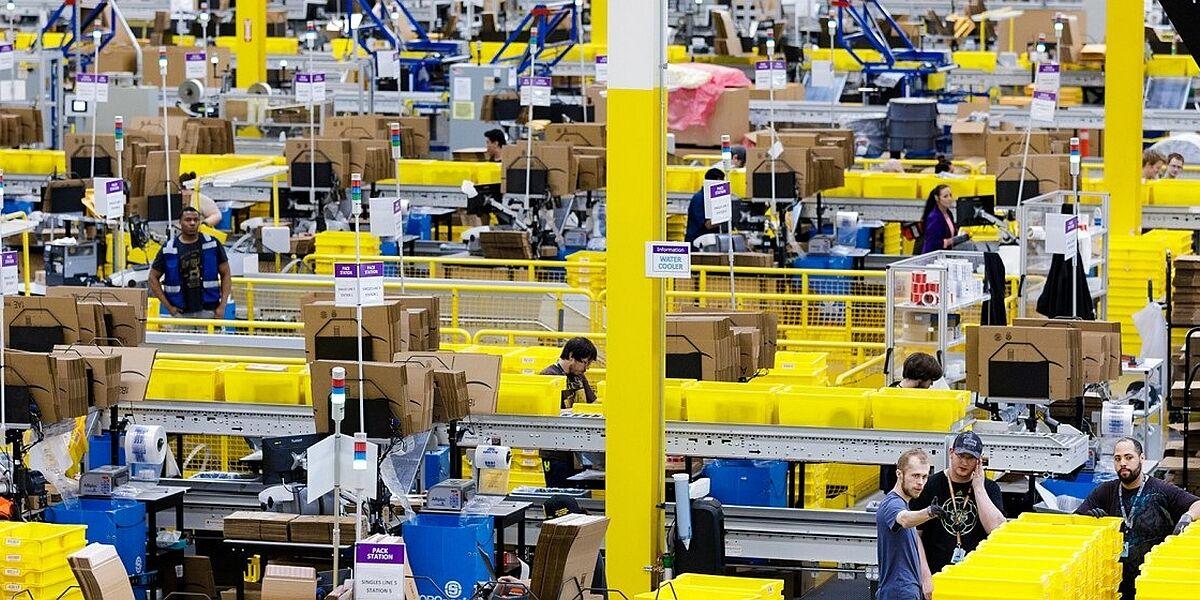 Amazon-Logistikzentrum