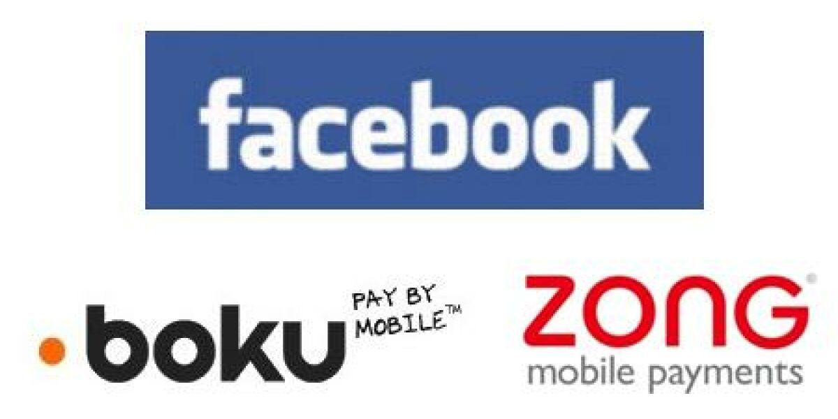Mobile Zahlungsanbieter auf Facebook