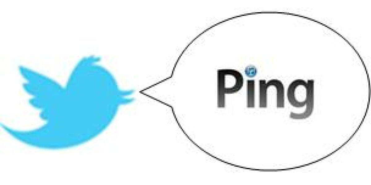Twitter und Ping kooperieren