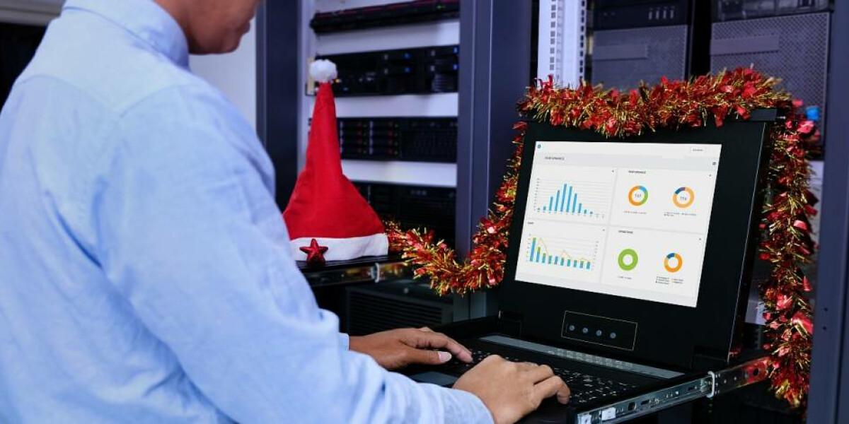 Weihnachten im Server-Raum