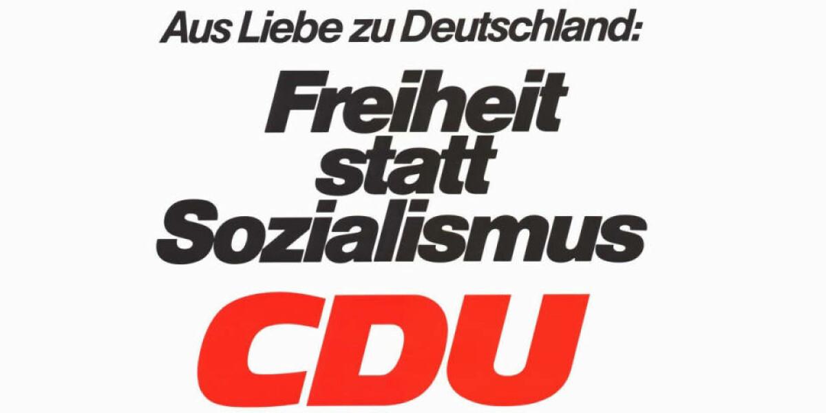 CDU-Wahlplakat 1976
