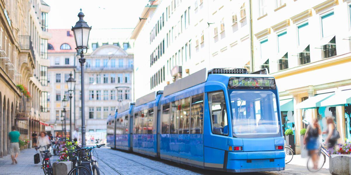 Straßenbahn in München
