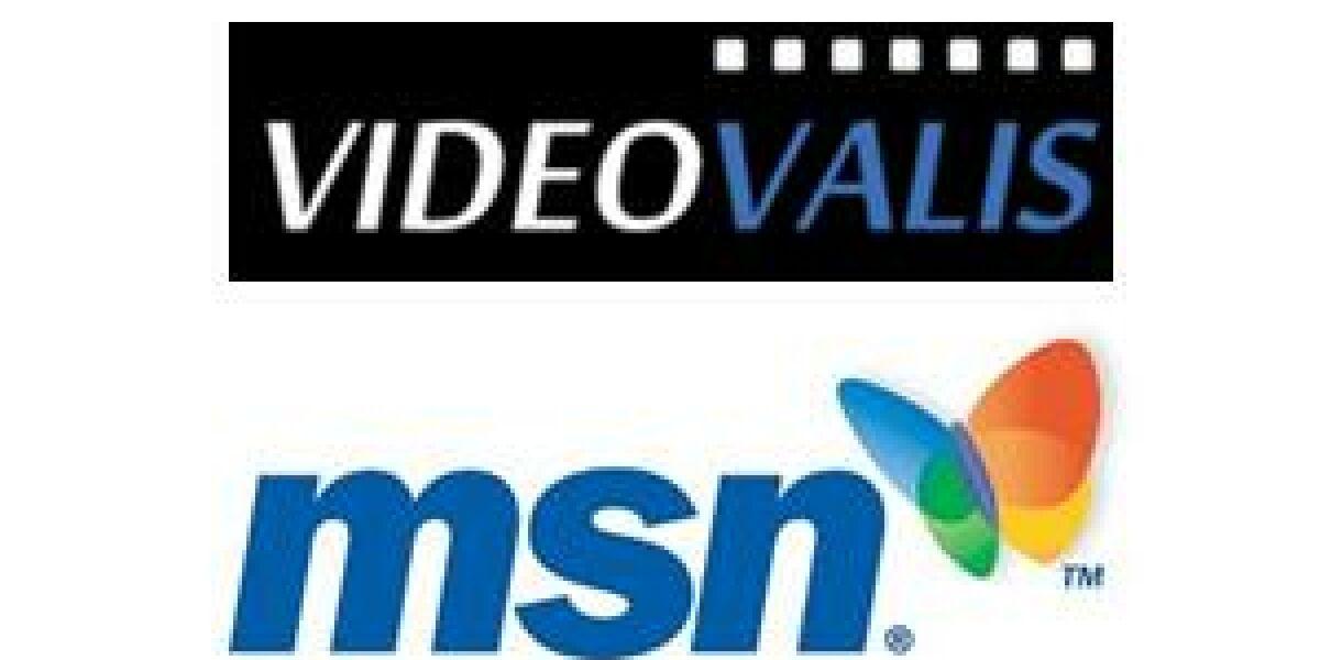 MSN und Videovalis schließen Content-Partnerschaft