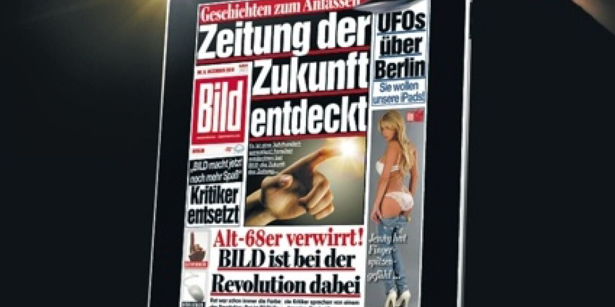 Axel Springer bringt Bild-Zeitung aufs iPad