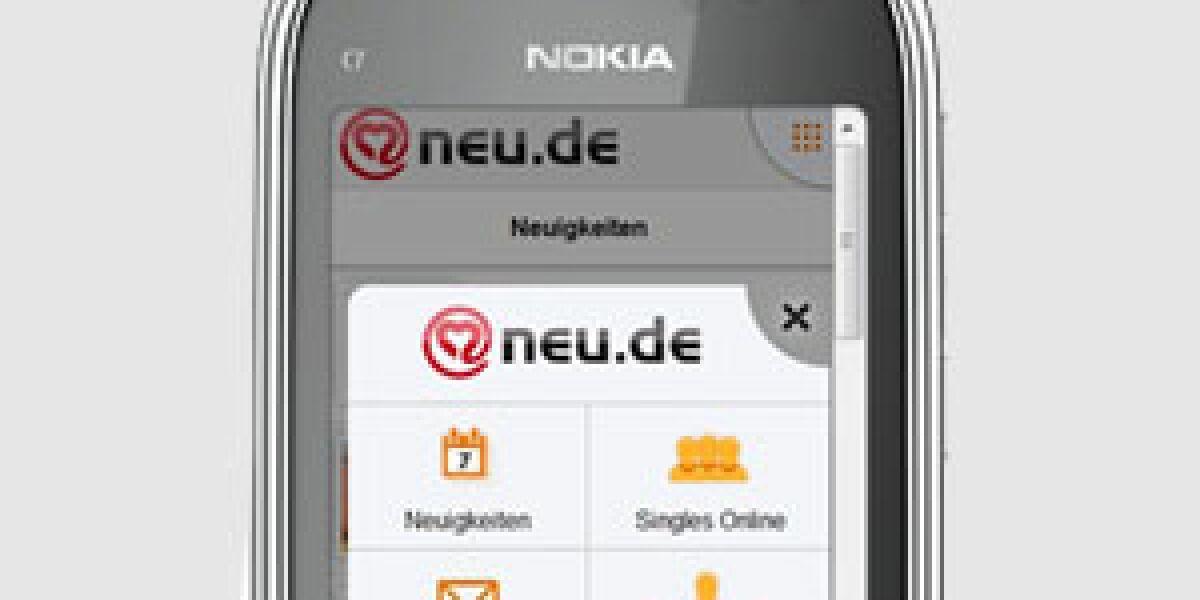 neu.de launcht mobile Apps für Symbian