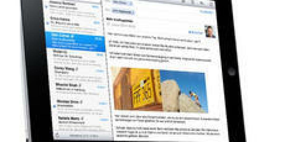 Erste iAd-Anzeige auf dem iPad
