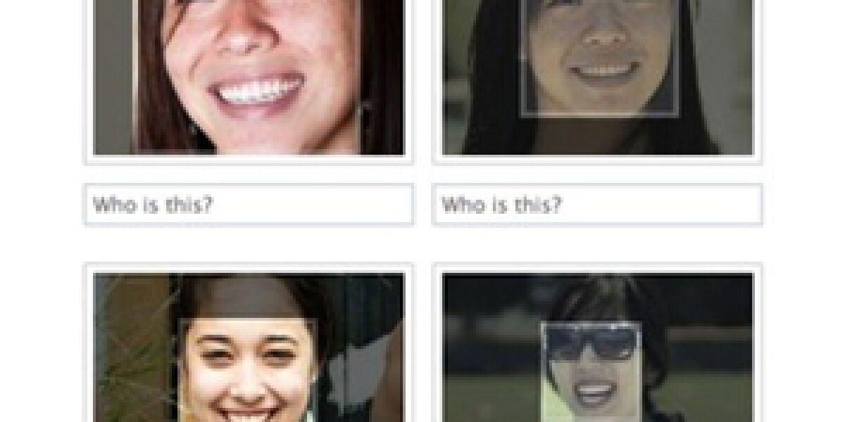 Facebook integriert Gesichtserkennung