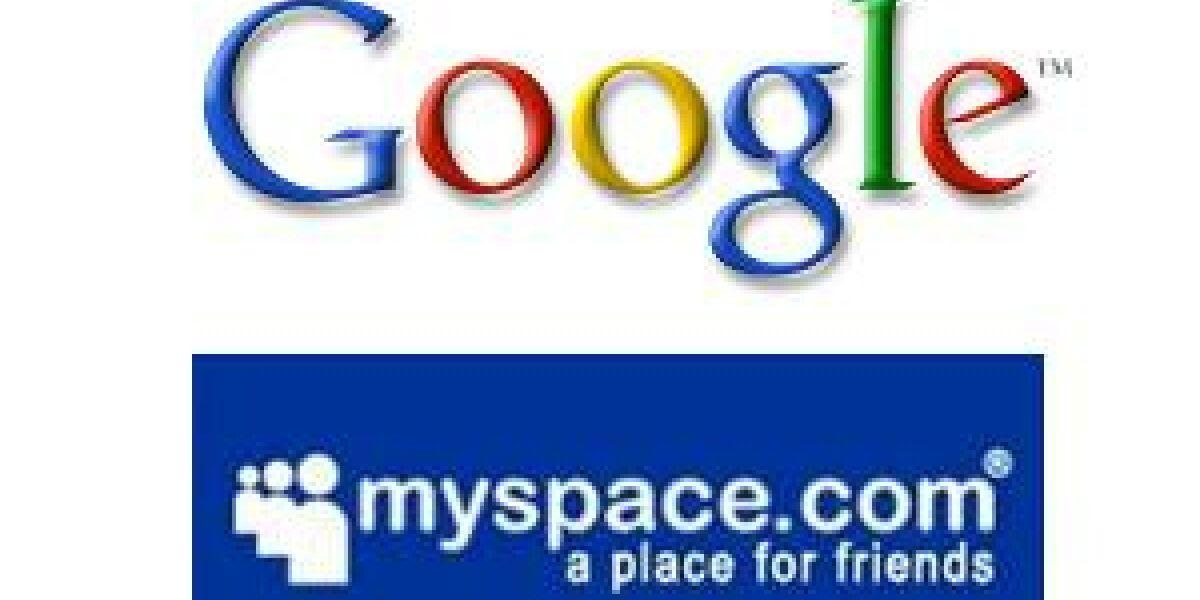 MySpace and Google verlängern Kooperation