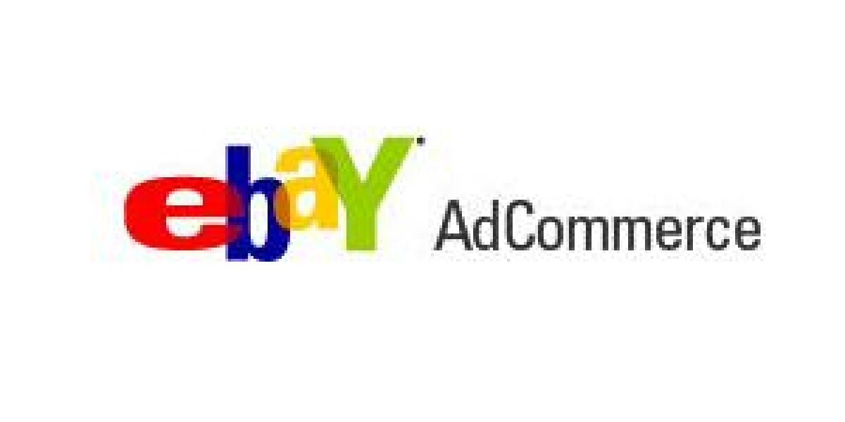 eBay stellt AdCommerce ein