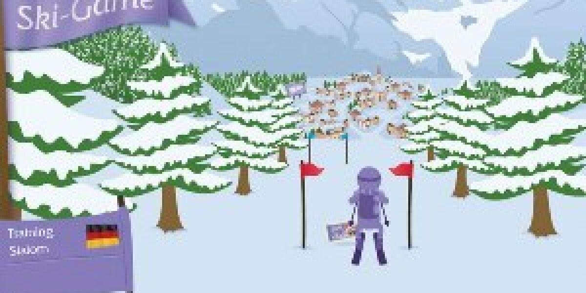 artundweise kreiert Ski-Game