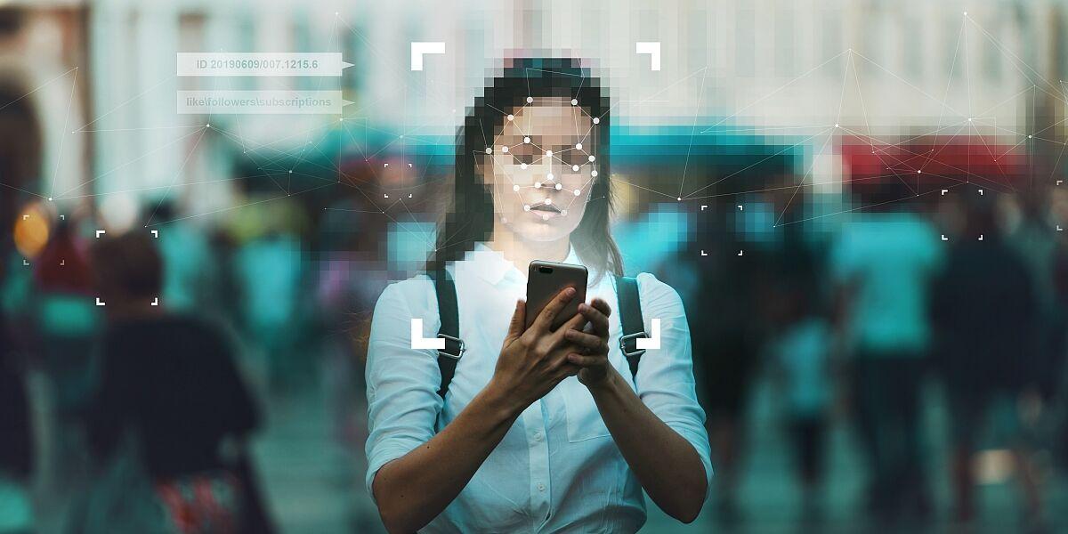Gesichtserkennung am Smartphone