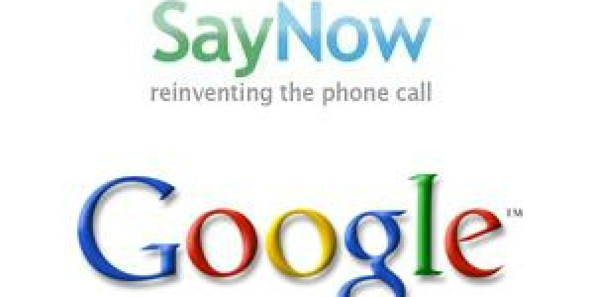 Google kauft SayNow