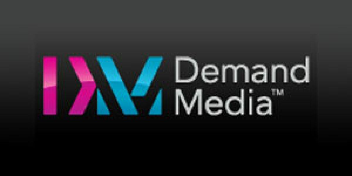 Demand Media startet mit einem Plus von 33 Prozent