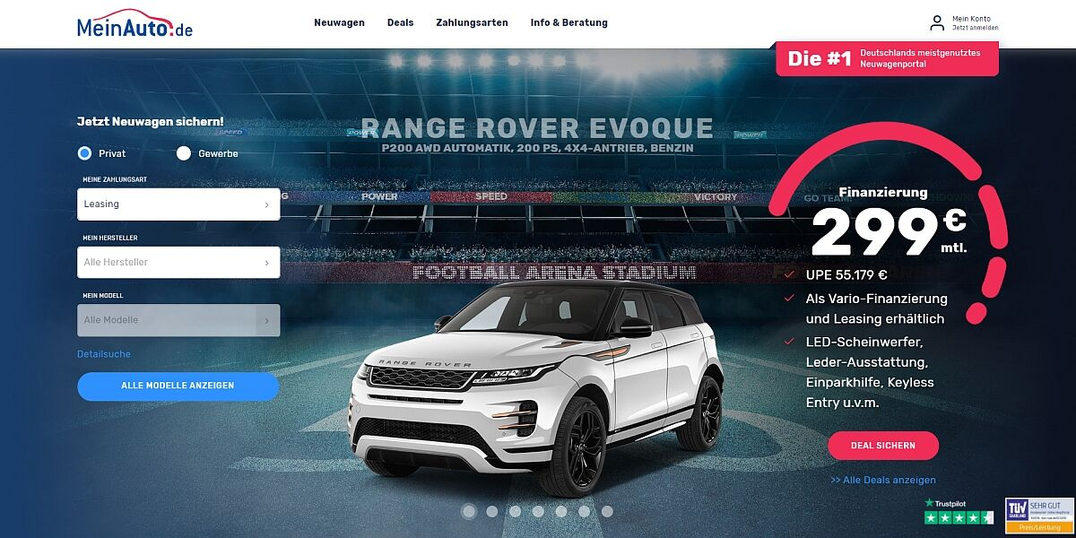 Website MeinAuto