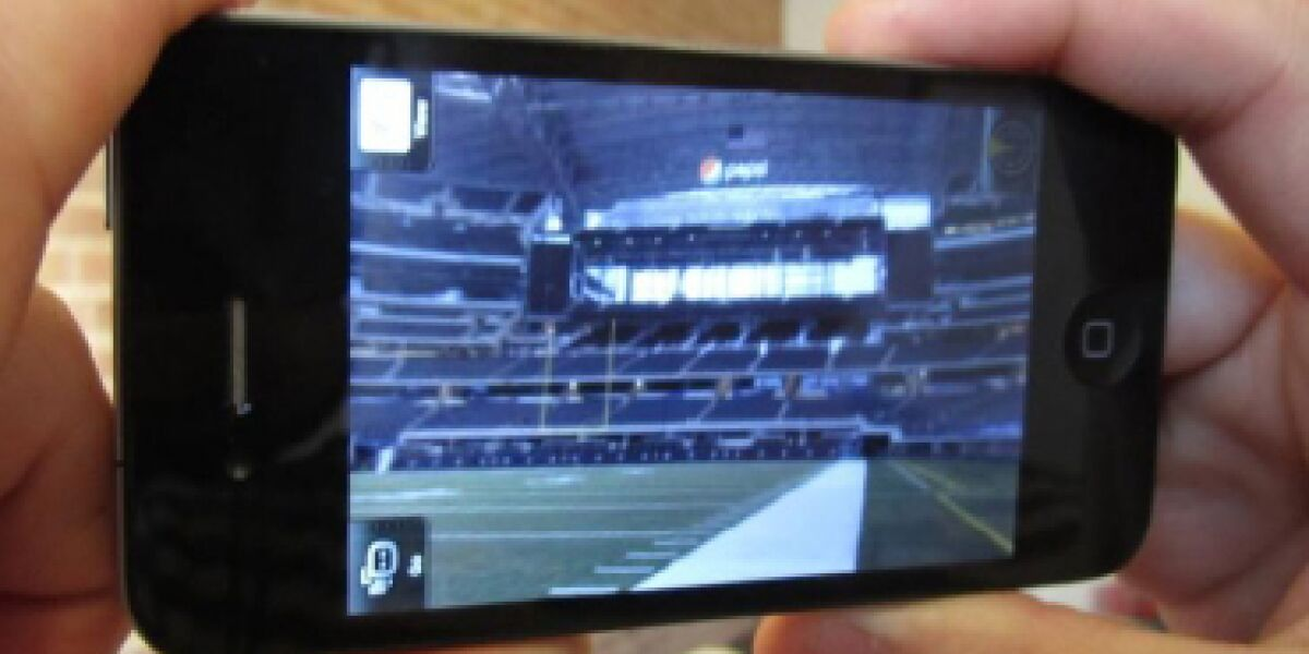 Augmented-Reality-App zur Super Bowl