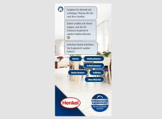 Henkel-Anzeige