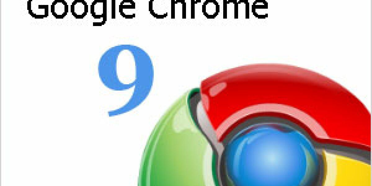 Google verteilt Chrome 9