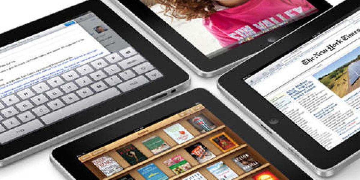 Apples iPad 2 in den Startlöchern