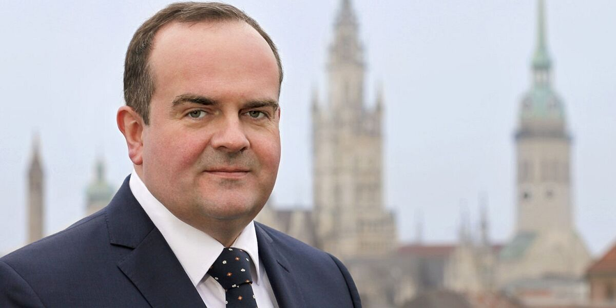 Wirtschaftsreferent Clemens Baumgärtner
