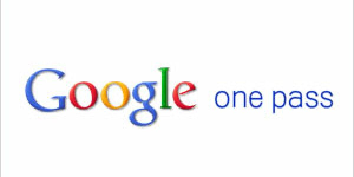 Google führt One Pass ein