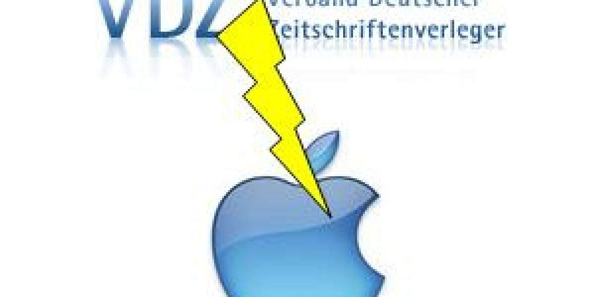 VDZ reagiert auf Apple-Abo-Regelungen