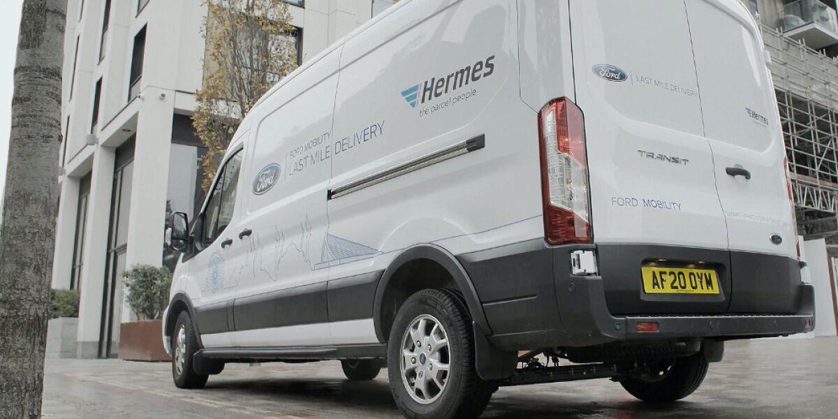 Hermes-Fahrzeug
