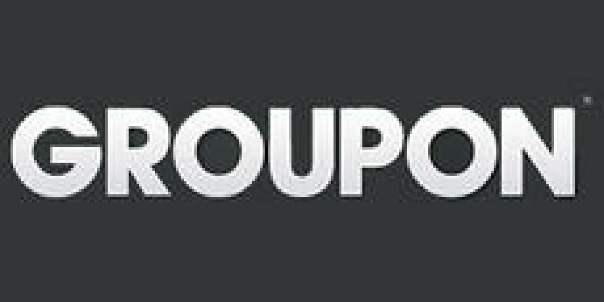 Groupon-Umsatz schnellte in die Höhe