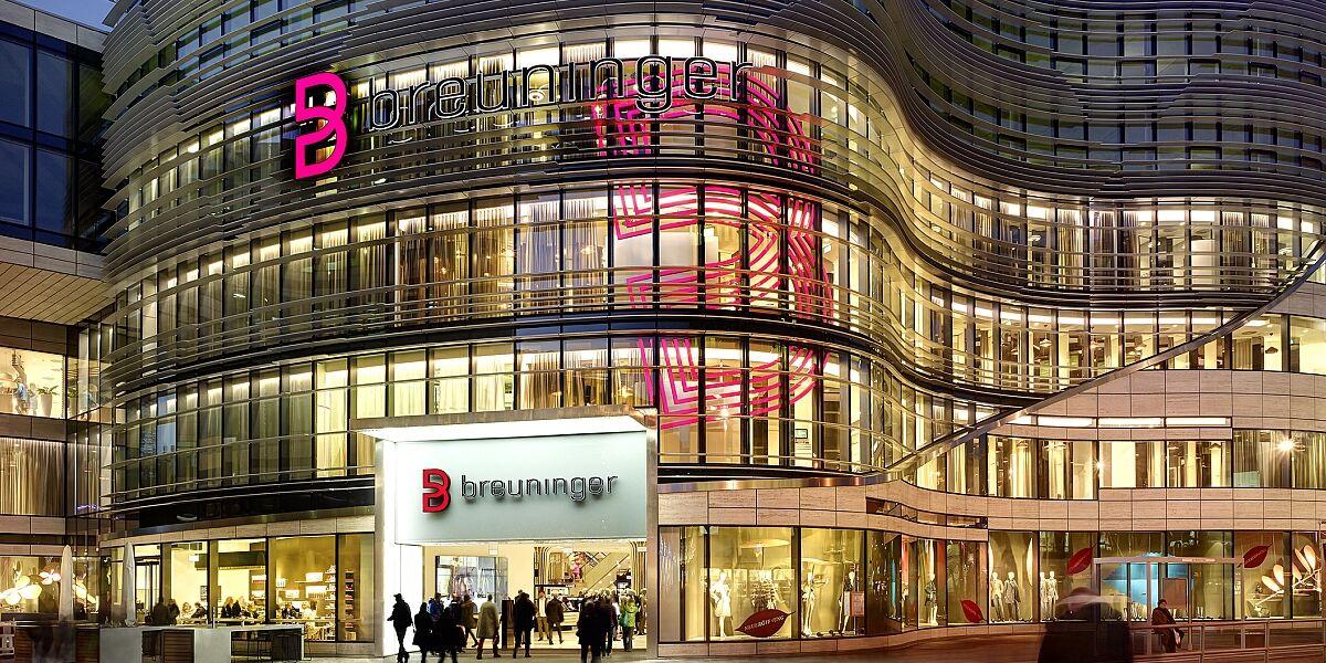 Breuninger-Filiale in Düsseldorf