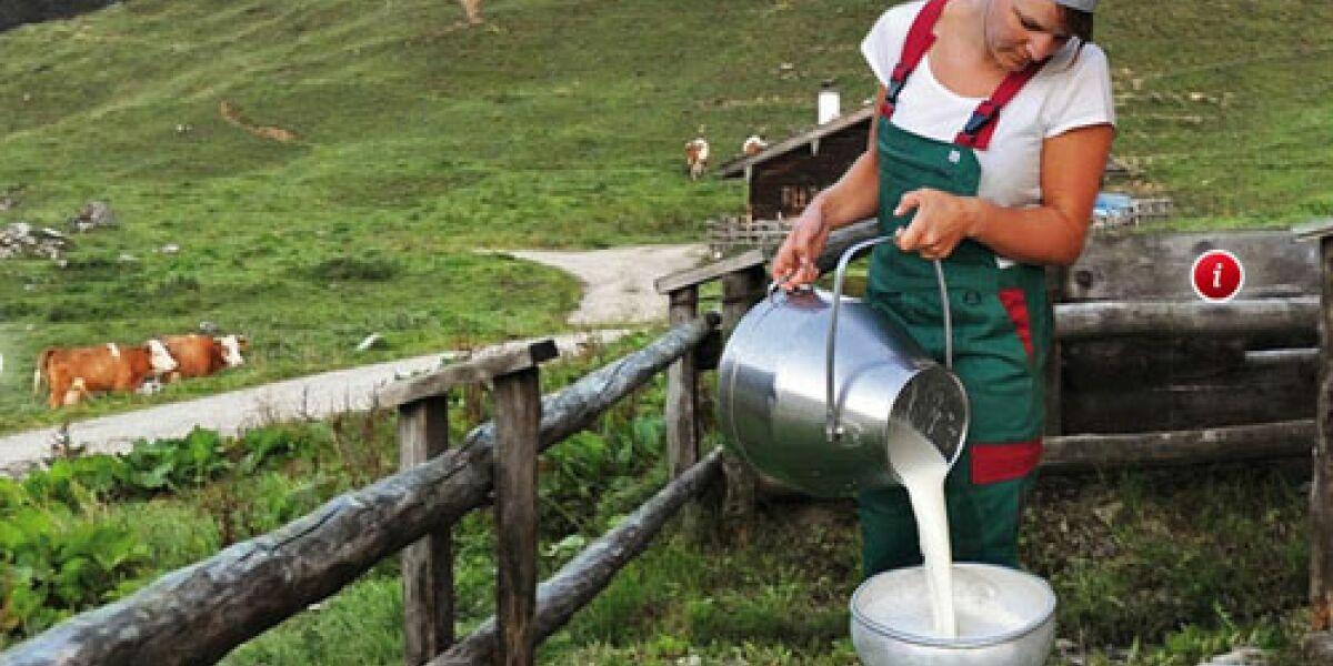 Code64 inszeniert Bergbauernmilch im Netz
