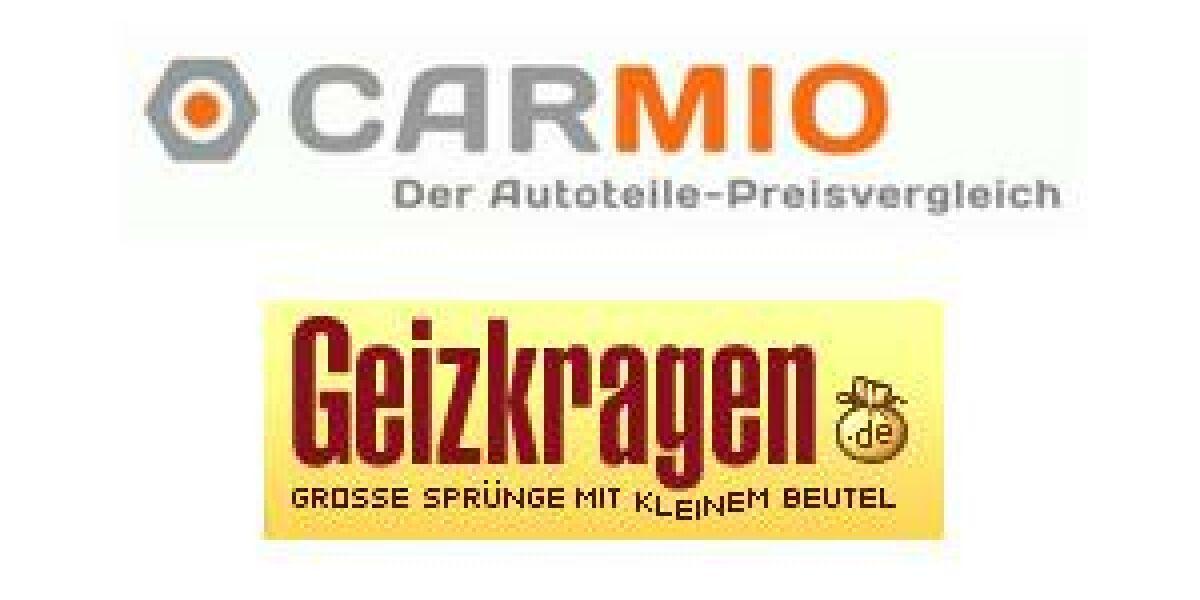 Strategische Partnerschaft von Geizkragen.de und Carmio