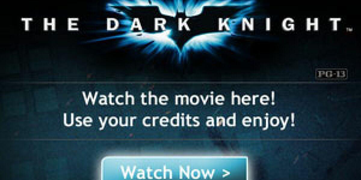 Warner Bros verleiht Filme via Facebook