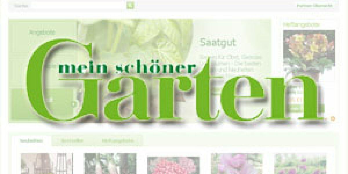 """""""Mein schöner Garten"""" erneuert seinen Onlineshop"""