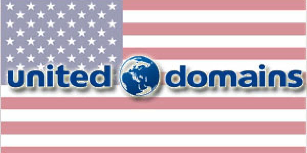 united-domains startet in den USA