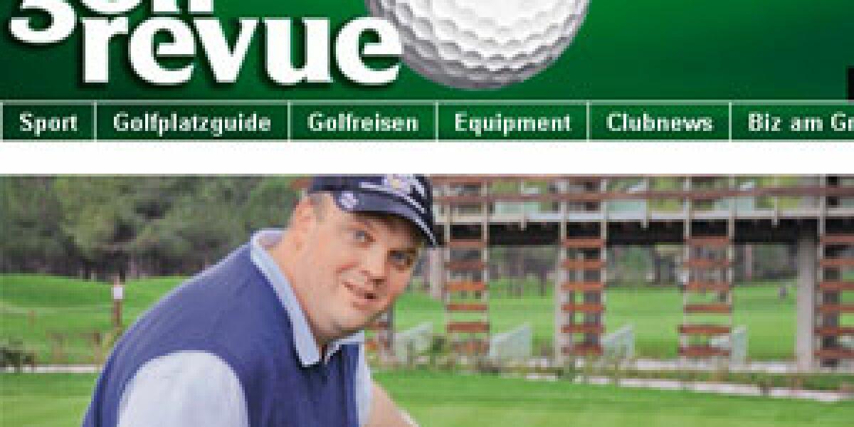 Neues Green für die Golfrevue