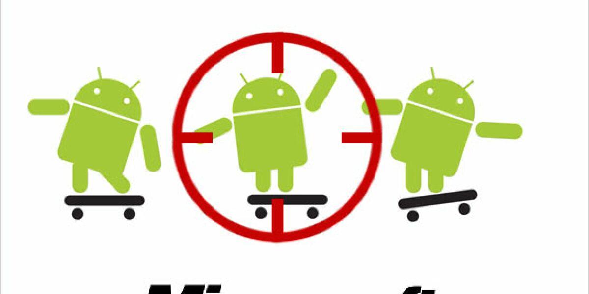Microsoft klagt erneut gegen Android