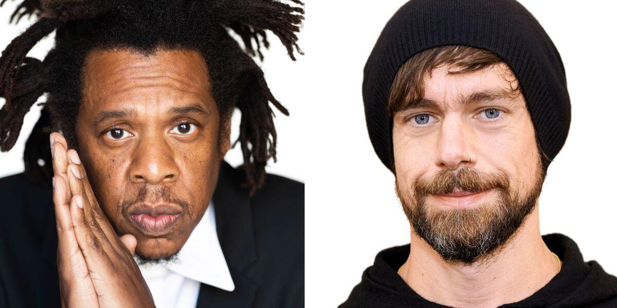 Jay-Z und Jack Dorsey
