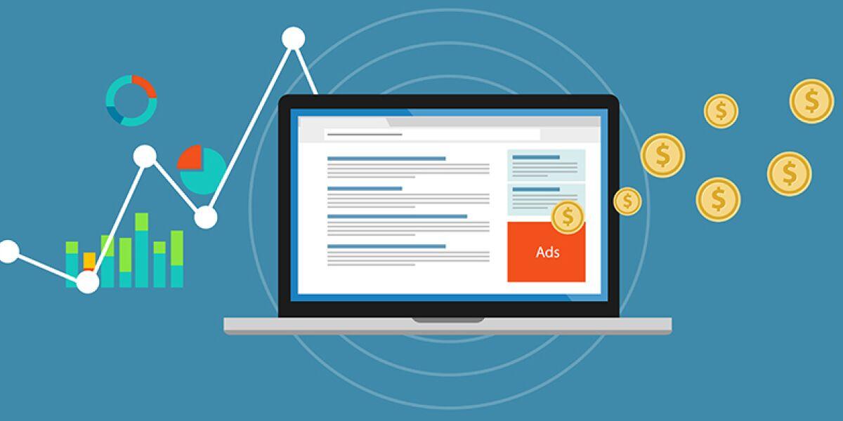 Analyse-Dashboard Online-Werbung
