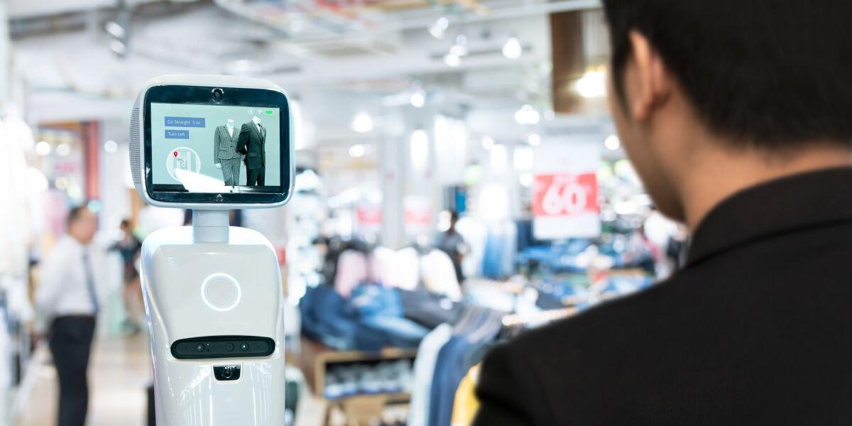 Roboter im Einzelhandel