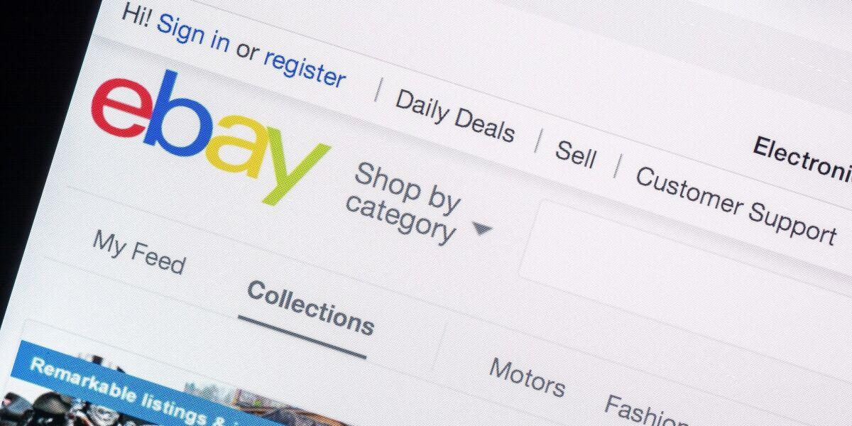 ebay-Startseite