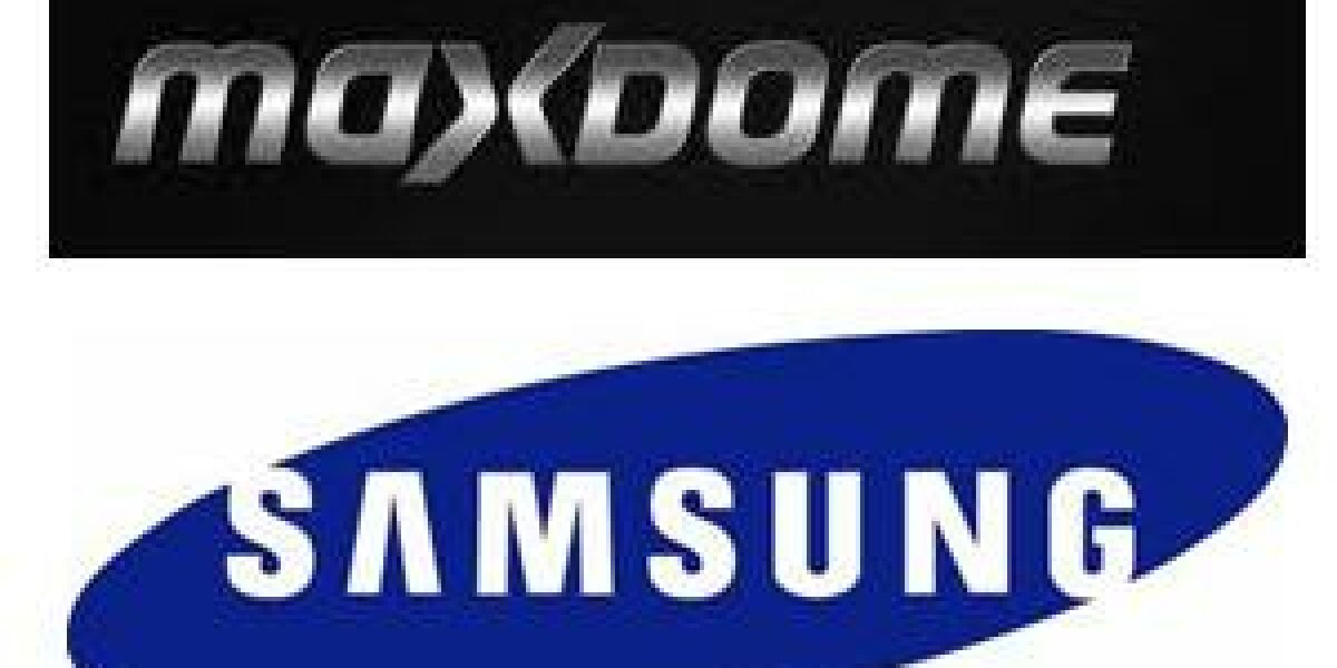 Samsung integriert maxdome-Zugang