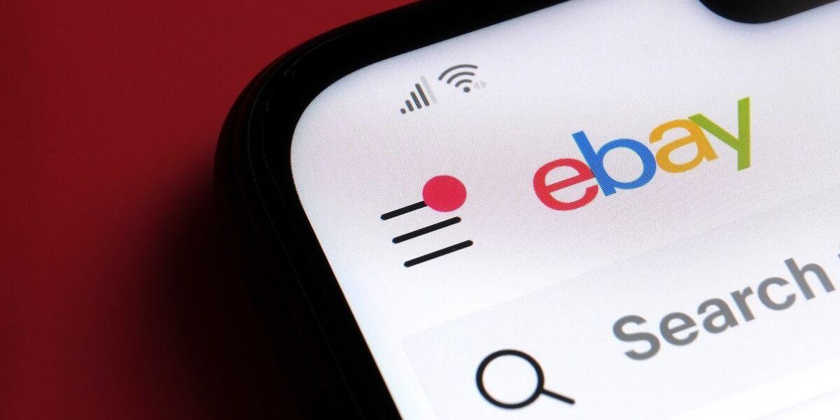 eBay-App auf Smartphone