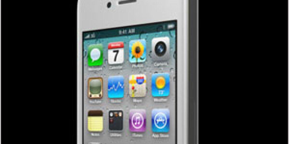 Apple bringt das weiße iPhone 4 am 28.April in die Läden