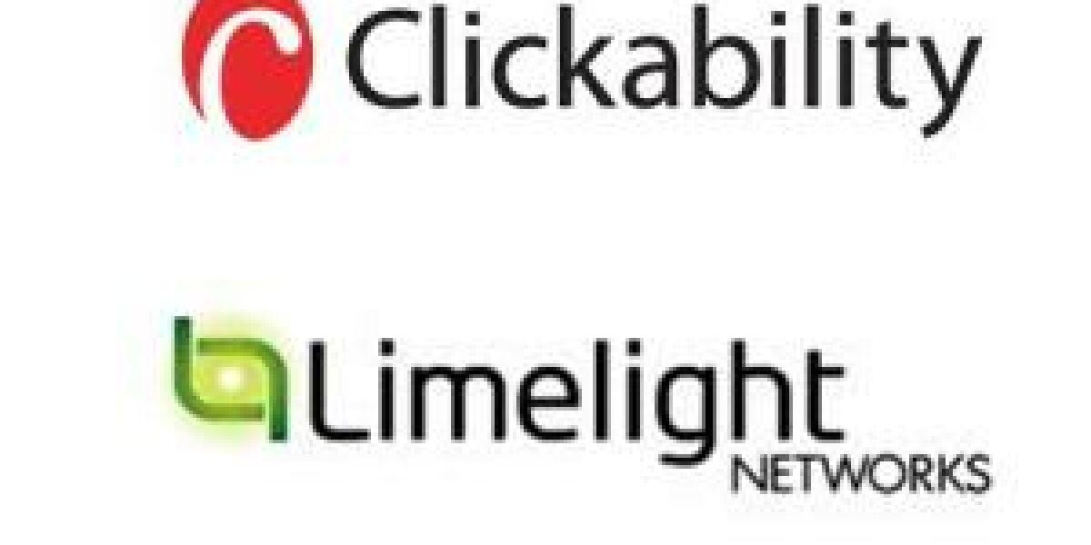 Limelight Networks übernimmt Clickability