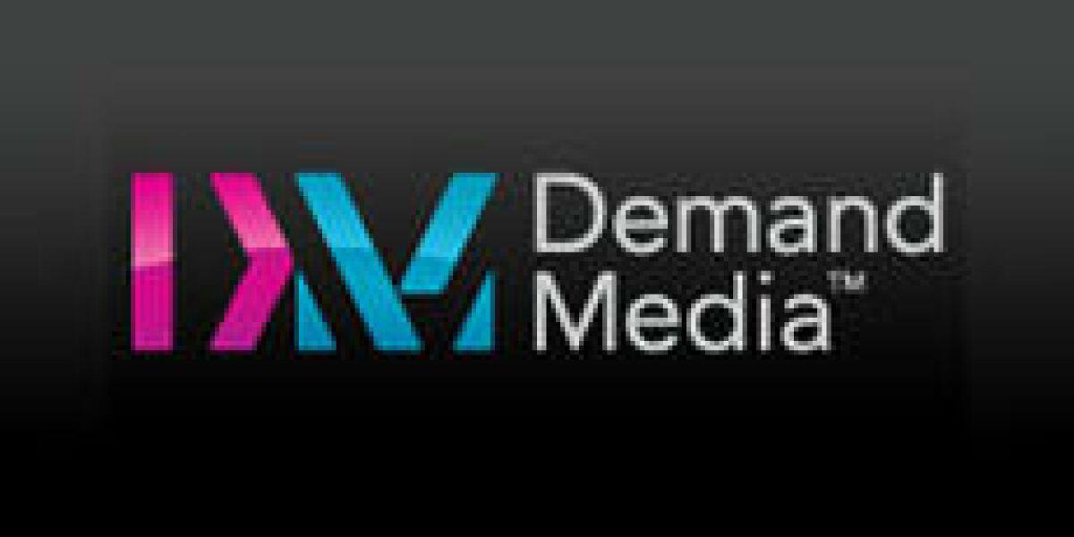 Demand Media-Quartalszahlen 1/2011