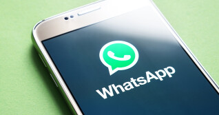 Whatsapp Logo Auf Smartphone-Screen